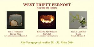 Flyer_Ausstellung_West_trifft_Fernost